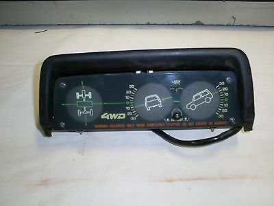 1983-85 Toyota Tercel Wagon 4Runner Tacoma 4Wd Inclinometer Dash Mount