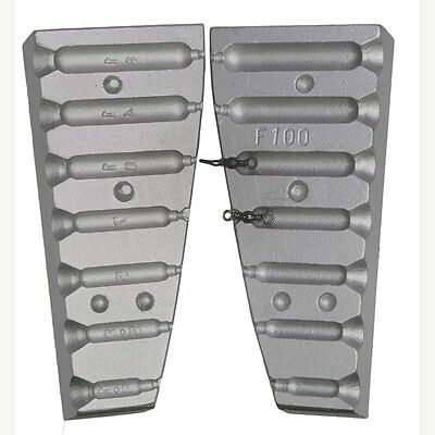 Aluminum lead Mould for 7 Drop Shot 1,8 - 3,5 - 5-7-10-14-18gr Weights  Fishing