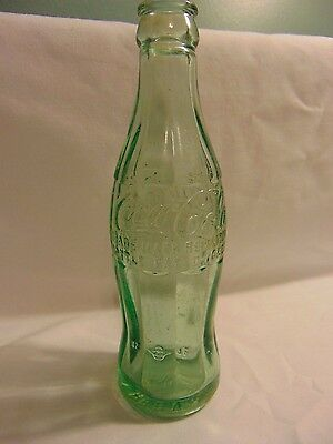 Vintage Coca-Cola Bottle Green Pat D-105529 Green Bay Wisconsin 6oz 1948 Collect