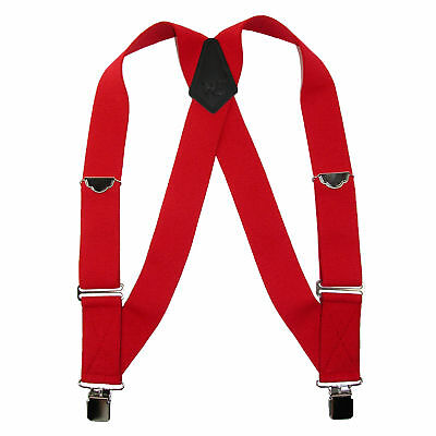 New Welch Men's Big & Tall Elastic Clip-End Trucker Suspenders
