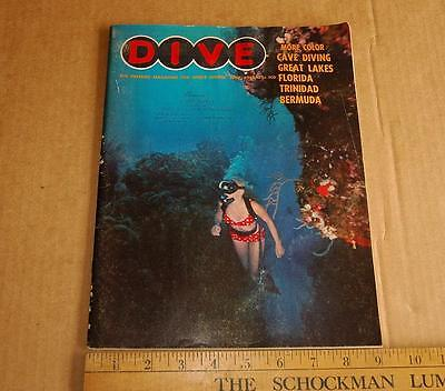 Dive Magazine June 1968 sport diving photography scuba products advertising