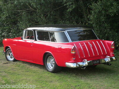 Classic Chevrolet V8 Bel Air 1955 NOMAD Custom Hot Rod Collectable American Icon