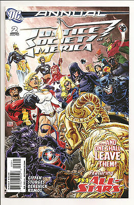 Justice Society of America Annual #2 NM 2010