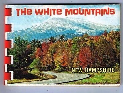 New Hampshire Postcard The White Mountains Photo Booklet