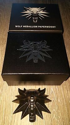 Loot Crate DX Exclusive WOLF INSIGNIA PAPERWEIGHT - THE WITCHER 3  NEW