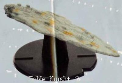 WOTC Star Wars Minis Starship Battles Mon Calamari Cruiser Home One NM
