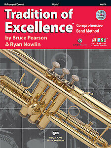 Pearson & Nowlin: Tradition of Excellence Enhanced Bok 1 Trumpet - Kjos W61TP...