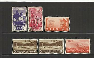 Italian Libya ~ 1912-1941 Small Collection (Most Postally Used)