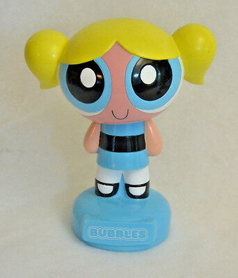 Powerpuff Girls BUBBLES Coin Bank Plastic Cartoon Network