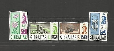 Gibraltar ~ 1960 Definitives (Mint Part Set)