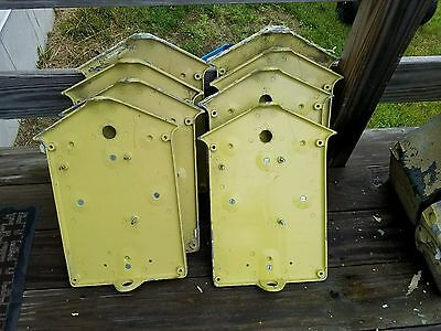 Gamewell Fire Alarm Police Call Box Backplates Fdny Pedestal Sold As Lot