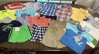 Nwt Mostly Carters Lot Of Boys Size 18M Outfits Clothing 22Pc