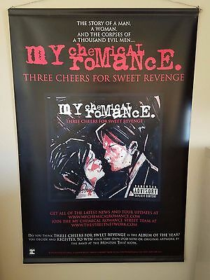 """My Chemical Romance Three Cheers Vinyl Double Sided Poster 24"""" x 36"""""""