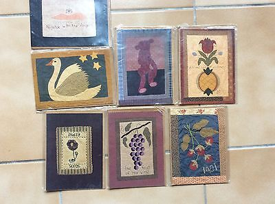Quilt Cards  & Envelope  With Included Pattern  X 7