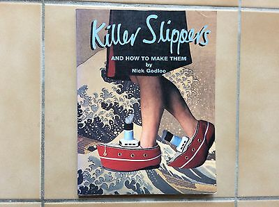 """BOOK """" KILLER SLIPPERS"""" by NICK GODLEE"""