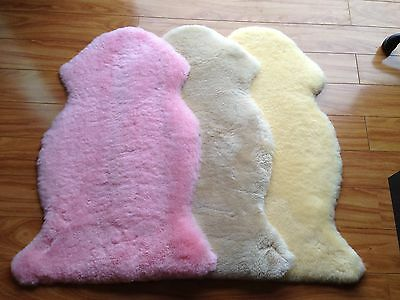 100% Australia sheepskin/lambskin baby rug factory outlet gifts for baby