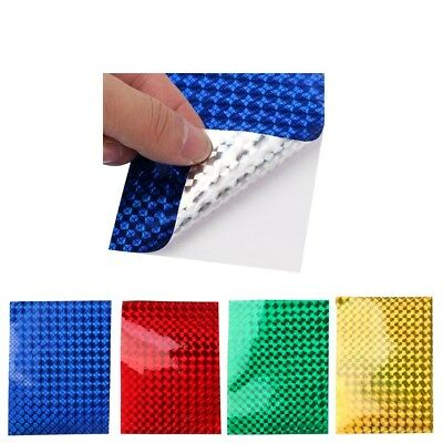 Pack of 8 Fishing Lure Tape Adhesive Film Tape Lure Making Holographic Tape