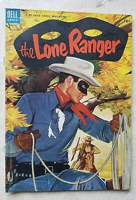 The Lone Ranger #74 (Aug 1954, Dell)