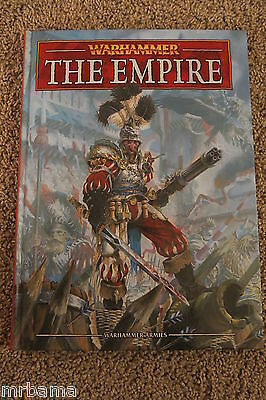 Warhammer The Empire Hc Manual Very Rare Gw Citadel