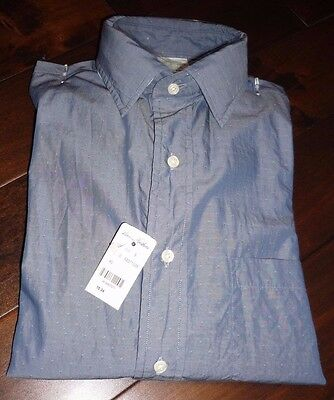 Brooks Brothers men's blue sports shirt 15 34 NEW WITH TAG