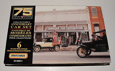 Canadian Tire 75Th Anniversary Die Cast Collector Set 1997 Limited Edition