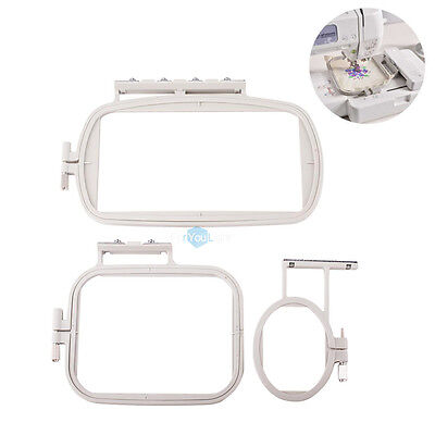 3 in 1 Embroidery Sewing Hoop Set for Brother Machines  SE400 PE500 LB6800 SA431