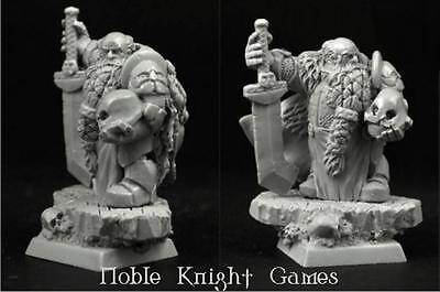 Scibor Monstrous Fantasy Mini 28mm Dwarf Lord Balbir Pack MINT
