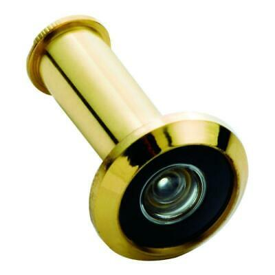 Solid Brass #2320 Wide Angle Door Viewer 190 Degree, Polished Brass, First Watch