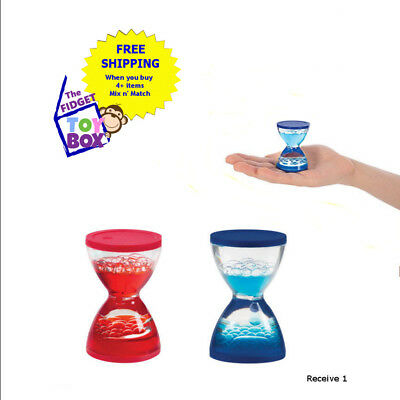 Mini Liquid motion water timer sensory oy play autism stress time out tool