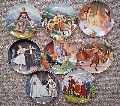 The Sound Of Music Collector's Plate Set-Knowles Bradford Collection