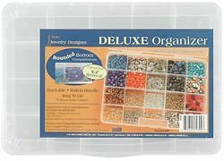 Darice Deluxe Organizer 20 Compartments 10768 (3-Pack)