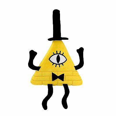 Bill Cipher Plush 100% Polyester Fiber Surface Washcnly Arms Legs Posable New