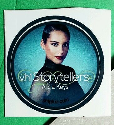 Alicia Keys Vh1 Storytellers Blue Photo Music Sm Get Glue Sticker