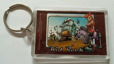 As-Is Kid Rock Girl Horse Trailor Brown Music Key Chain Keychain