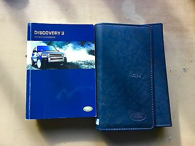 Land Rover 2004 Discovery 3 owners manual & service passport