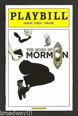 "Andrew Rannells ""THE BOOK OF MORMON"" Nikki M. James / Josh Gad 2011 Playbill"