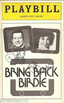 "Chita Rivera (Signed) ""BRING BACK BIRDIE"" Donald O'Connor 1981 Premiere Playbill"