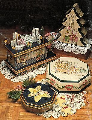 Tole Decorative Painting Christmas Finders Keepers No Peeking Pegi White Book