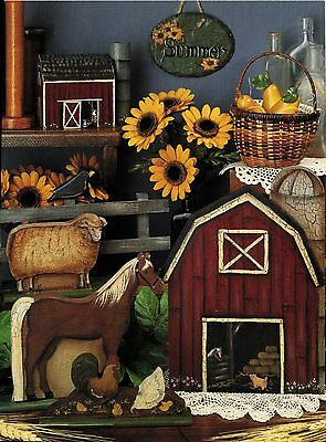 Tole Decorative Painting All Cracked Up 2 Jane Crick Country Pumpkin Slate Book