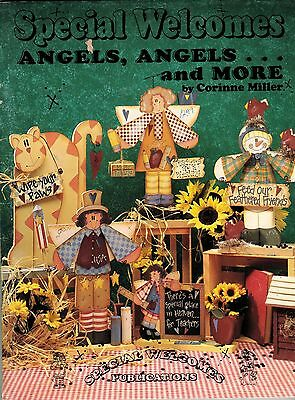 Tole Decorative Painting Angels Special Welcomes Cat Teacher Corinne Miller Book