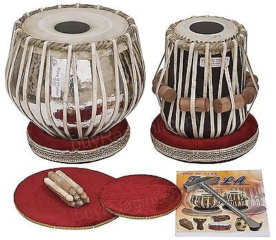 638888969692-Tabla Drum Set 4KG Chromed Copper Bayan Finest Dayan