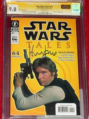 CGC SS Star Wars Tales issue 11 signed by HARRISON FORD!!!