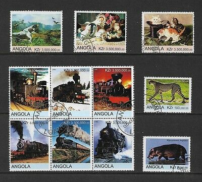 ANGOLA - mixed collection No.3, 1999-2000