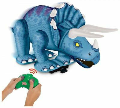 Chad Valley Radio Remote Controlled Inflatable Dinosaur Triceratops Toy Animal
