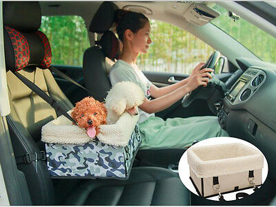 Fold Pet Car Carrier with Safety Belt for Dog Cat Puppy Travel Bag Booster Seat