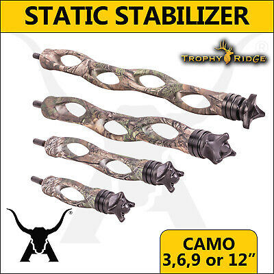 Trophy Ridge - Static Stabilizer Camo - 3, 6, 9 or 12 inch - Bow Hunting