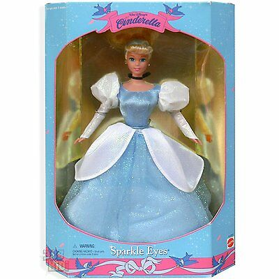 Mattel Walt Disneys Sparkle Eyes Cinderella