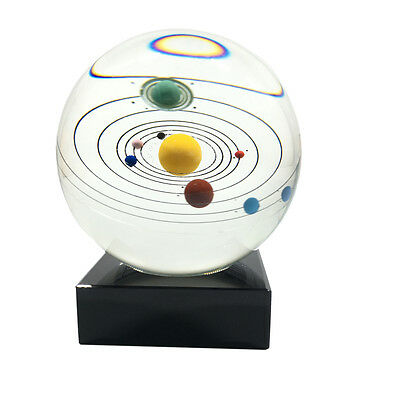 Solar System Eight Planets Crystal Ball Transparent Solar Planet Crystal Ball