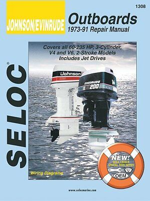 Evinrude/Johnson Outboard: (1973-1991) v. 4 (Seloc Marine Tune-Up and Repair Ma
