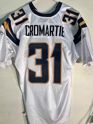 NFL Cromartie San Diego Chargers Authentisch American Football Shirt Trikot
